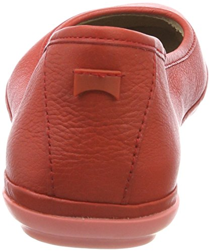 Right 610 Nina Closed Red Ballet Medium Red Women's Flats Toe Camper RxAqawn