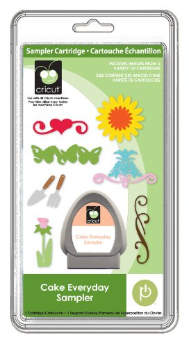 Provo Craft Cricut Cake Everyday Sampler Cartridge ()