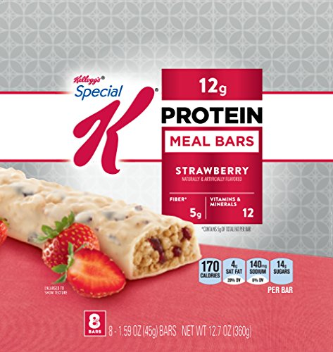 Special K Protein Bar, Strawberry (1.59-Ounce), 8-Count Bars