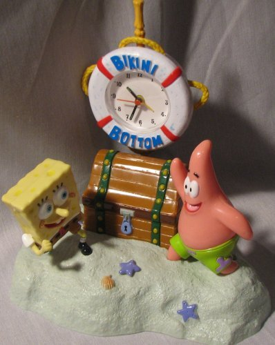 Spongebob Squarepants Bikini Bottom Talking Alarm Clock ()
