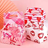 ADXCO 24 Packs Valentine's Day Treat Boxes, Goodie