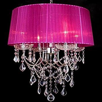 Amazon.com: European style crystal Pendant Lights modern minimalist ...