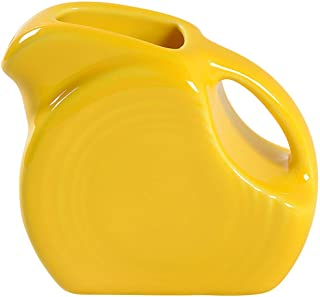 product image for Homer Laughlin Miniature 5 oz Disc Pitcher, Daffodil