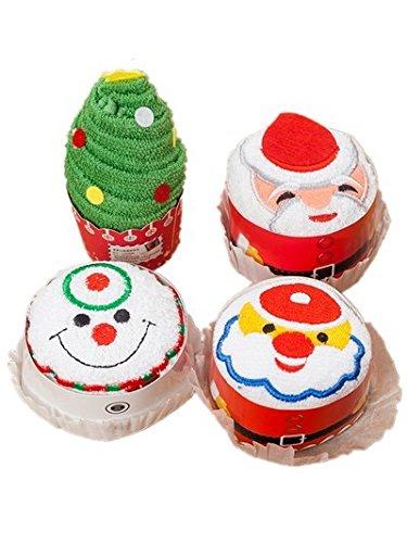 Toallas de toallas de pastel de Navidad