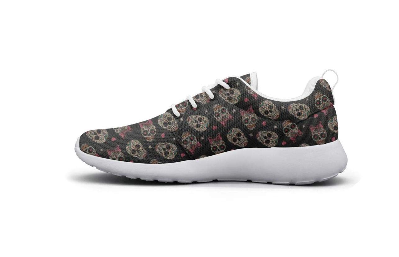 Vasionon Seamless Skull face Sports Running Shoes Casual Lightweight Athletic Sneakers Print Women Custom