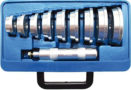 BGS 1522 Jeu de pi/èces de pression 10 pi/èces Argent//bleu