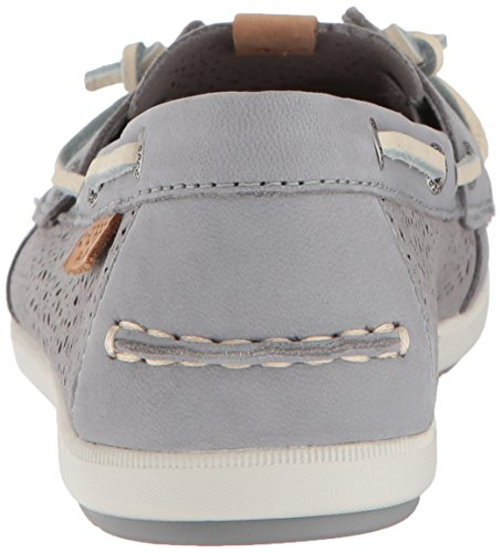 Sperry Top-sider Donna Bobina Ivy Geo Perf Boat Shoe Grey