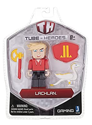 Tube Heroes Action Figure with Accessories from Jazwares Domestic
