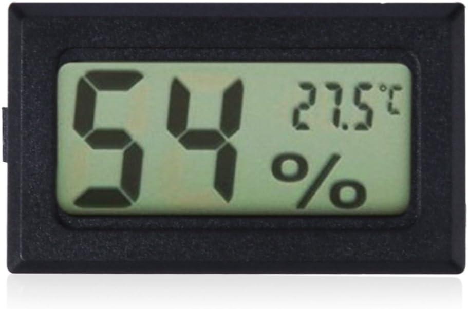 Mini Digital Indoor LCD Thermometer Hygrometer Gauge Humidity Meter Portable New