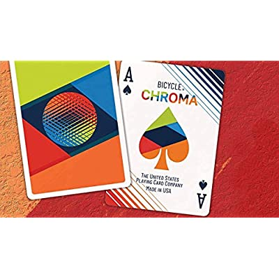 Bicycle Chroma Playing Cards: Sports & Outdoors
