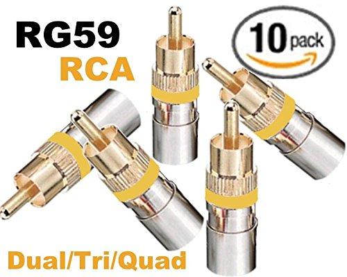 75 Ohm Rca Connector - 5