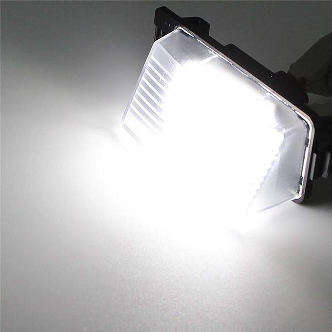 Fanuse la Voiture LED la Lumi/èRe de Plaque DImmatriculation pour 350Z 370Z GTR Infiniti G35 G37 G25