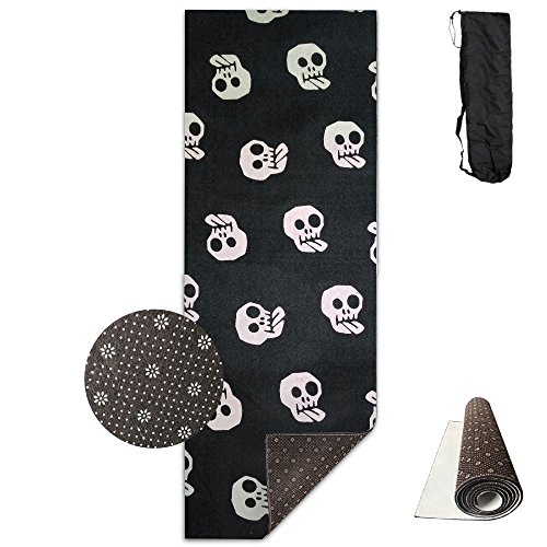 Halloween.jpg Yoga Mat - Advanced Yoga Mat - Non-Slip Lining - Easy To Clean - Latex-Free - Lightweight And Durable - Long 180 Width 61cm]()