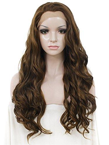 Peluca sintética, de la marca Imstyle, para mujeres, de cabello rubio