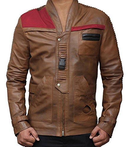 [Star Wars Finn Pilot Jacket - Chocolaty Color (S, Chocolaty)] (Rey Star Wars Costume Replica)