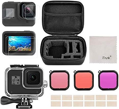 Kit de Accesorios para GoPro Hero 8 Black, iTrunk 24 en 1 con ...