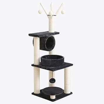 Gato escalada marco sisal gato pequeño arañazos columna gato árbol arena para gatos exportación gato plataforma de salto juguete de madera sólida cuatro ...