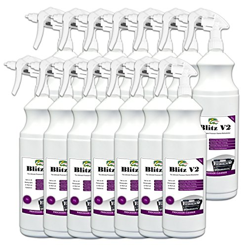 Blitz Paper - Deep Cleaner and Descaler HYDRA BLITZ V2 - 14x1L Foaming Spot Cleaner For Badly Scaled Racks, Conventional Film, Plate and Paper Processors