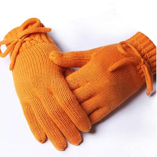 NuoEn Gloves, Winter Warm Glove Plush Blend Elegant Ladies Gloves Winter Gloves -