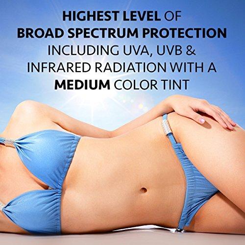 Broad Spectrum Moisturizer Spf 45, Medium Tint by Beauty Facial Extreme Medium
