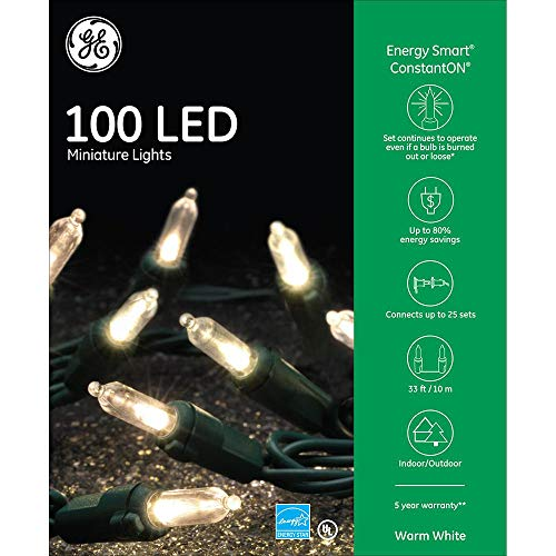 100 Led Crystal Miniature Lights
