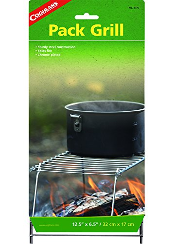 Coghlans 8770 Pack Grill - Grate Camp