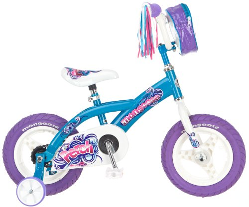 UPC 038675129580, Mongoose Girl's Perch 12-Inch Bike, Blue