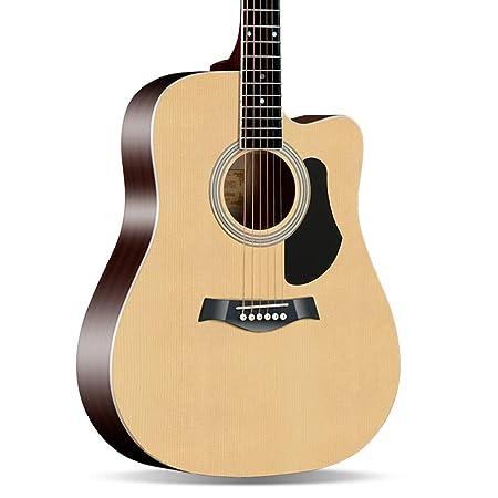 BAIYING-Guitarra Acústica Guitarra Clásica 41 Pulgadas ...