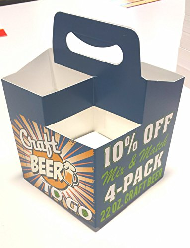 22 oz. Craft Beer 4pk Carriers 10% Off Mix and Match 50 carriers (22 Oz Beer Bottle Carrier compare prices)