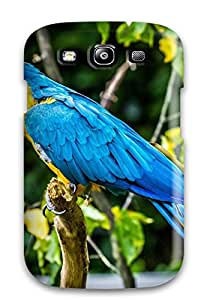 2416541K44382274 For Galaxy S3 Tpu Phone Case Cover(macaw)
