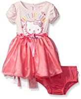 Hello Kitty Baby Girls' Tutu Dress, Blushing Bride Baby, 18 Months
