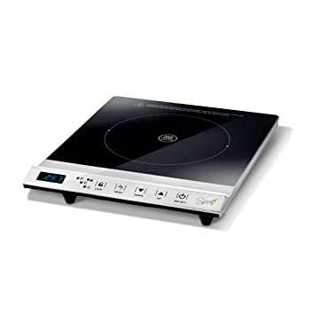 SPICE CHILI Hornillo de inducción con pantalla digital táctil placa individual y doble 2000 – 3100 W Piastra Singola
