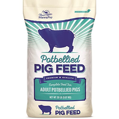 Picture of Manna Pro Potbellied Pig Food, 20 Lb
