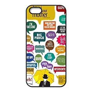 How I Met Your Mother Printing iphone 4s Cases,Hard Silicone+PC Material, Case for iPhone 4 4s,Rubber Case Cover