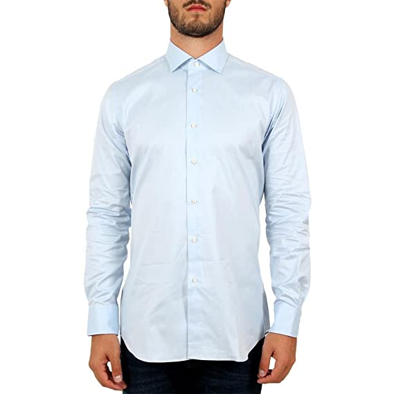 af6fc07024 Xacus Camicia Manica Lunga Uomo Mod. 558: Amazon.co.uk: Clothing