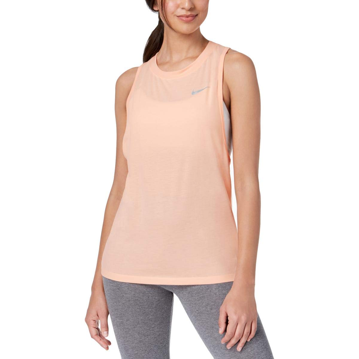Amazon.com: Nike Womens Tailwind Yoga Fitness Tank Top ...