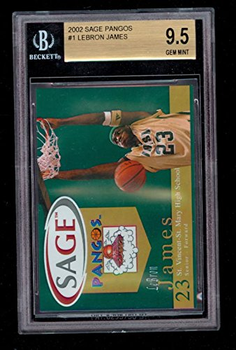 s Lebron James #1 BGS 9.5 Graded Rookie Card ()
