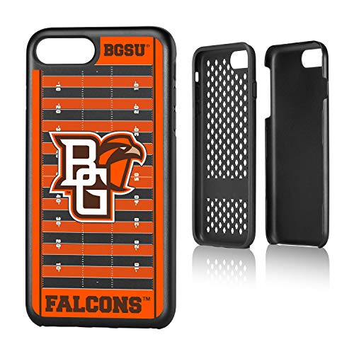 (Keyscaper KRGD7X-0BOW-VFLD01 Bowling Green State Falcons iPhone 8 Plus / 7 Plus Rugged Case with BGSU Football Field Design)