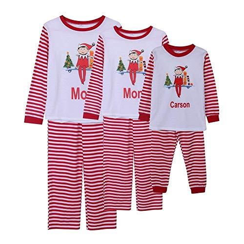 Papá Hogar Pijamas Hijos Navidad Trajes Ropa Mama Niño Conjuntos Padres Madre Moda Para 2 E El De PPqwO1R