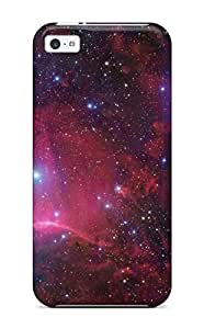 Flexible Tpu Back Case Cover For Iphone 5c - Spaces