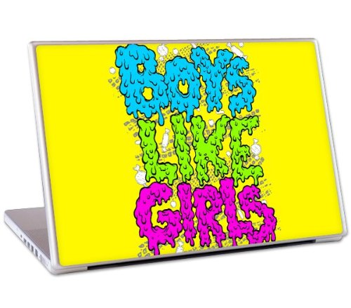 MusicSkins Boys Like Girls Slime Skin for 17inch MacBook Pro and PC Laptop