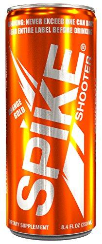 Spike Shooter Orange Gold - 24 (8.4 oz)