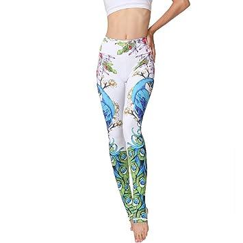 LQRR Pantalones de Mujer Sport Gym Leggings Pantalones de ...
