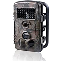 Game Trail Hunting Camera 1080P HD Infrared Night Vision Scouting Camera with 42pcs IR LEDs