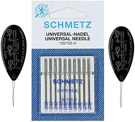 Schmetz - Agujas para máquina de coser (normal/estándar), varios ...