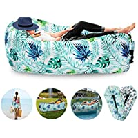 FORNY Inflatable Air Sofa Lounger Hammock Floating Couch...