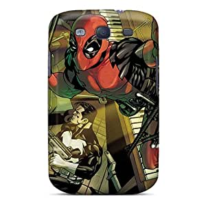 Galaxy S3 Rxdpogk3824DKqSb Deadpool I4 Tpu Silicone Gel Case Cover. Fits Galaxy S3