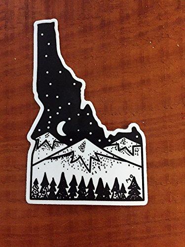 Idaho Sticker - Stickers Boise
