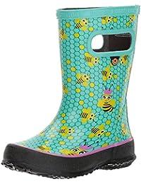 Kids' Skipper Waterproof Rubber Boys and Girls Rain Boot
