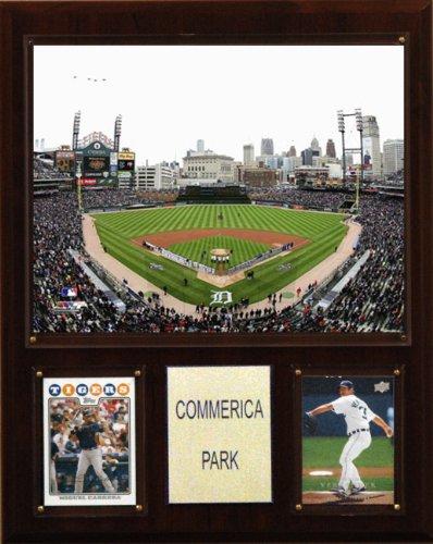 MLB Commerica Park Stadium Plaque Detroit Tigers Baseball Park
